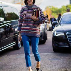 #New on #STYLEDUMONDE  http://www.styledumonde.com  with @evachen212 #EvaChen at #paris #fashionweek #pfw #stripes #chanel #outfit #ootd #streetstyle #streetfashion #streetchic #streetsnaps #fashion #mode #style