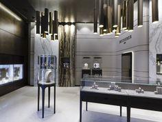 Bucherer store by Blocher Blocher Partners, St.Moritz Switzerland jewellry