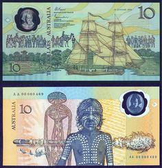 Australian 10 dollars