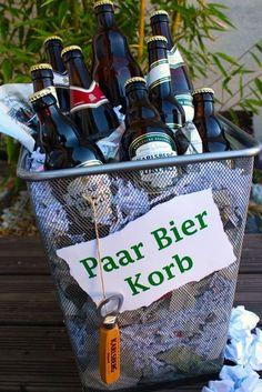 """Aus der Reihe """"Schlechte Wortspiele"""": Der paar Bier-Korb (dauert 'n Moment ...)"""