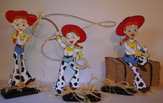 Toy Story Jessie Centerpiece by cricflix on Etsy