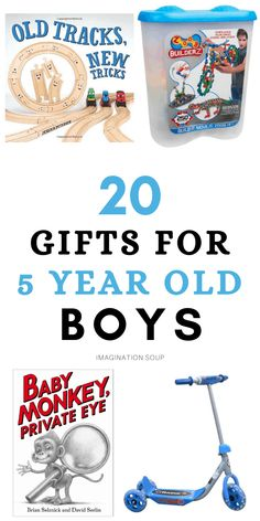 Top Gifts For Kids, Literacy Games, Gross Motor Skills, Writing Lessons, Parent Gifts, 5 Year Olds, Lessons For Kids, Old Boys, Easy Gifts