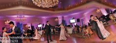 Gujarati Wedding in The Villa at Mountain Lakes, NJ - Hindu Wedding Reception Photo. Non posed, candid photo by PhotosMadeEz. Bride and Groom's First Dance.