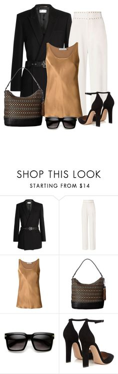 """""""Untitled #1412"""" by gallant81 ❤ liked on Polyvore featuring Yves Saint Laurent, 10 Crosby Derek Lam, Gloria Coelho, M&F Western, ZeroUV and Gianvito Rossi"""
