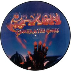For Sale - Saxon Power And The Glory UK  picture disc LP (vinyl picture disc album) - See this and 250,000 other rare & vintage vinyl records, singles, LPs & CDs at http://eil.com