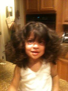 That hair!