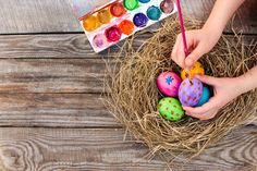 Easter weekend is the perfect time to get crafty with your kids. Bethenny Frankel shares four easy and creative DIY Easter crafts you can all do together. Easter Weekend, Easter Crafts For Kids, Egg Decorating, Easter Eggs, Crafty, Bethenny Frankel, Creative, Fun, Craft Ideas