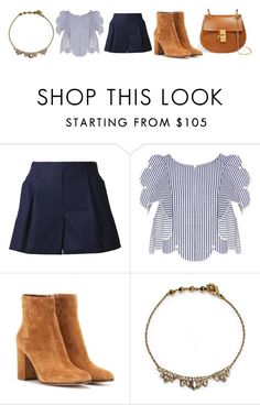 """""""Untitled #811"""" by sabaaaa ❤ liked on Polyvore featuring 3.1 Phillip Lim, Alice McCall, Gianvito Rossi, Alexis Bittar and Chloé"""