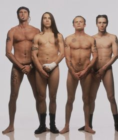 Red Hot Chili Peppers- Next,,,,,,,next !   (at the recruiters.....fresh meat....)