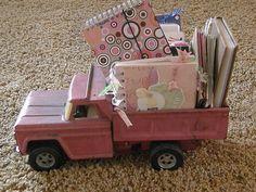 vintage toy dumb truck