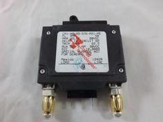 CA1X009576A21MG - CARLING SWITCH INC - 1460685 - 50 AMP CKT BREAKER BULLET BLACK HANDLE 3 PIN EVEN