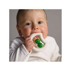 "Naef ""Miau"" - Handmade baby rattle - baby teether"