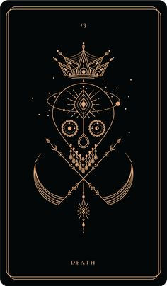 DEATH This card represents change and tells the asker the old must be cleared to make space for the Bracelete Tattoo, Tarot Card Tattoo, Stampin Up Karten, Urbane Kunst, Tarot Major Arcana, Book Of Shadows, Tarot Decks, Tarot Cards, Wiccan