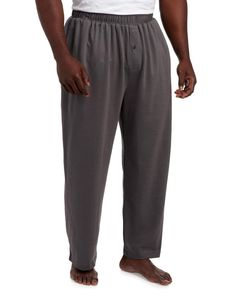 3 Pack: Mens Pajama Pants Mens Knit Cotton Flannel Plaid Lounge Bottoms S 3XL
