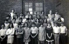 Mrs.Decks' 6th Grade Class, Glenwood Elementary's Old School Building (1969)