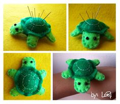 Turtle Pincushion by LoRi-La-Tortuga on deviantART