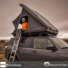 - Looking for the weekend 👀 #alucab #alucab #expedition3 #rtt #rooftoptent #rooftoptentliving #campvibes #camping #getoutside #roadtrip #offroad #overland #overlander #adventuremobile #adventure #exploremore