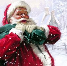 Impressioni Artistiche : ~ Richard Macneil ~ Christmas