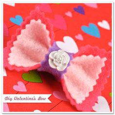 sweet handmade bow for your daughter!