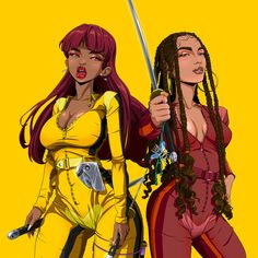 Sexy Black Art, Black Love Art, Black Girl Art, Art Girl, Black Cartoon Characters, Female Characters, Trill Art, Outline Art, Black Artwork