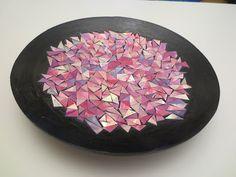 CD mosaiikki Decorative Bowls, Plates, Tableware, Home Decor, Licence Plates, Dishes, Dinnerware, Decoration Home, Room Decor