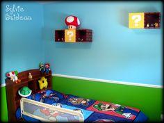 Super Mario Wall Decor, hudson would love this!!!!!!!!!