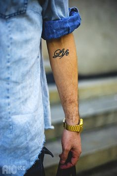 I believe this is the tat I will be getting. This year has made me realize how things can change in an instant and how precious LIFE really is.