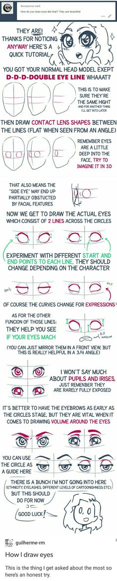 How to draw eyes tutorial eye Drawing Skills, Drawing Techniques, Drawing Tips, Body Reference, Drawing Reference, Art Tutorials, Drawing Tutorials, Draw Eyes, Writing Art