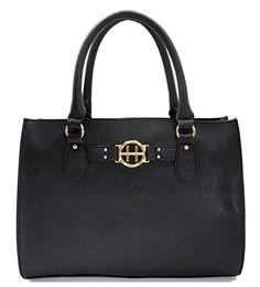 Tommy Hilfiger Handbag Tote in Black * You can get additional details at the image link.