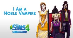 You got: Noble Vampire | You may be accustomed to the finer things in life, but coming from an old-world, you are a bit out of touch with society (with hoarding tendencies). Watching a little modern-day TV might be good for you. | What kind of vampire are you? Take The Sims 4 Vampires quiz to find out.