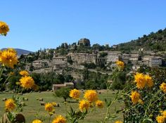 #Montbrun-les-Bains -- Rhône-Alpes #France