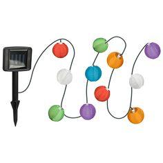 ProGarden Solenergi Ljusslinga Risboll 10 st LED, Mix