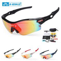 Inbike phân cực đi xe đạp kính mát kính xe đạp bike sunglasses eyewear 4 khung 5 kính ống kính uv bằng chứng 911