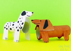Crafts With Toilet Paper Rolls - Dogs