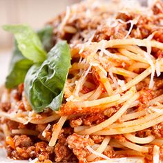 This slow cooker skinny spaghetti is a comfort food you won't want to miss.