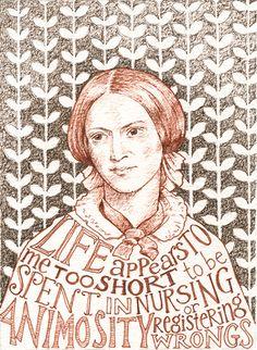 Charlotte Bronte by Alison Kolesar