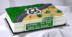 Frank's Route 66 Cake