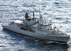 Destructor Almirante Brown de la Armada Argentina / Argentine Navy destroyer Admiral Brown
