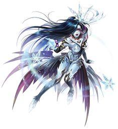 Dark Shiva from Final Fantasy Dimensions II #illustration #artwork #gaming #videogames #gamer