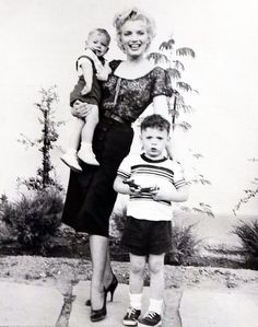 """To understand Marilyn best, you have to see her around children. They lover her; her whole approach to life has their kind of simplicity and directness."""" – Arthur Miller on Marilyn Monroe"""