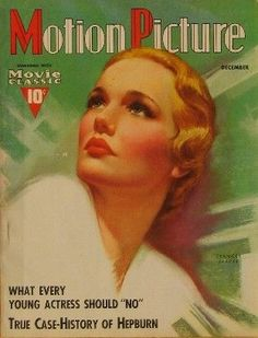 Frances Farmer,cover of Motion Picture magazine.
