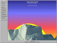 Scorched Earth Earth Layers, Pixel Games, Desktop Screenshot, Inspiration, Biblical Inspiration, Inspirational, Inhalation