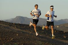 Improve your running strength and speed with downhill training.
