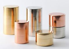 Copper Kaikado mixed caddies