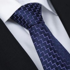 Men Polyester Silk Plaids Embellished Business Necktie.      Perfect size to wrap around your shirt collar.     Compact and stylish design will be nice to collocate with your suit and shirt.     Polyester silk material is great for durability and harmless for your skin.     Whether you're going for a laid back look or something more formal, such as wear in a dinner party and wedding, you can find that perfect look.