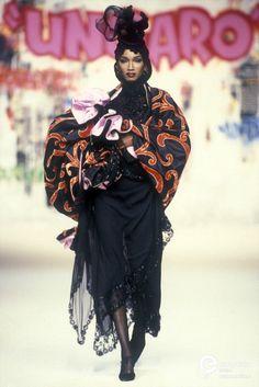 Katoucha Niane | Emanuel Ungaro, Autumn-Winter 1994, Couture