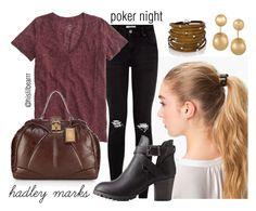 """""""Hadley Marks - Poker Night"""" by hislilbearrr on Polyvore"""