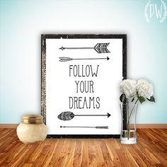 Quote Print Printable Children's art wall decor by PrintableWisdom, $5.00