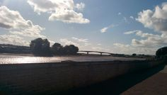 River Taw in the summer
