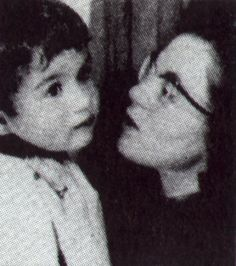 George and his mum